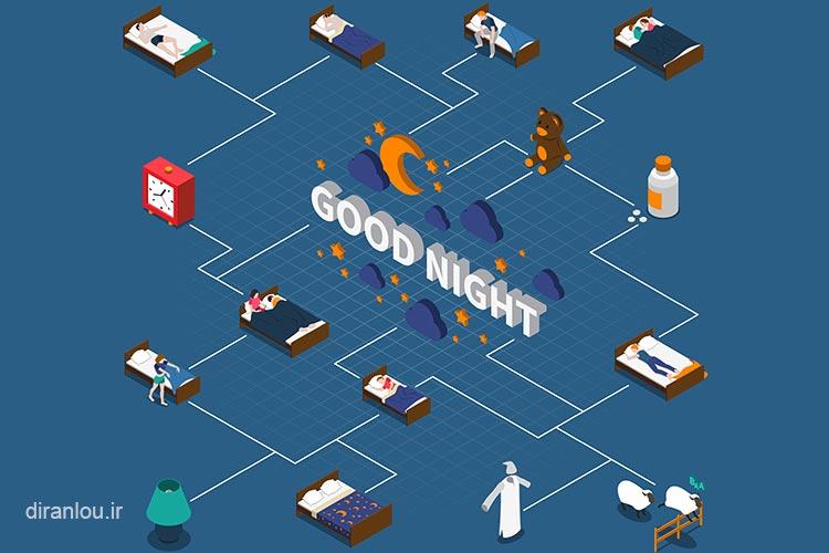 بیخوابی شبانه ناشی از اینترنت