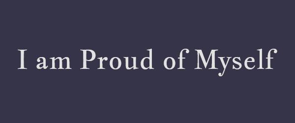 آیا به خودت افتخار میکنی؟